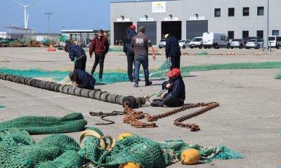 Fishing Nets In Dock