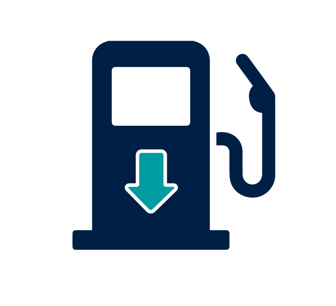 Fuel Decrease Icon